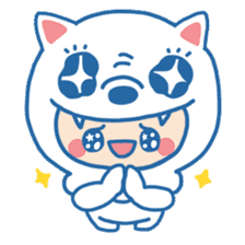 Ookami Bouya (Wolf Kid) sticker #100081