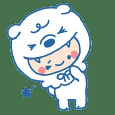 Ookami Bouya (Wolf Kid) sticker #100082