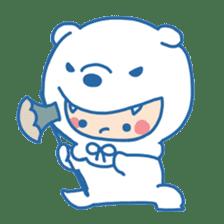 Ookami Bouya (Wolf Kid) sticker #100085