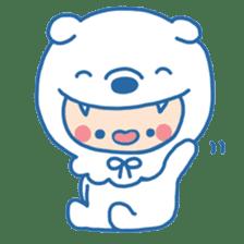 Ookami Bouya (Wolf Kid) sticker #100088