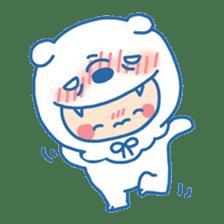 Ookami Bouya (Wolf Kid) sticker #100090