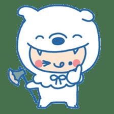Ookami Bouya (Wolf Kid) sticker #100091