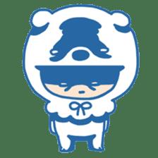 Ookami Bouya (Wolf Kid) sticker #100095