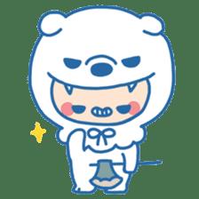 Ookami Bouya (Wolf Kid) sticker #100098