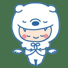 Ookami Bouya (Wolf Kid) sticker #100101