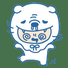 Ookami Bouya (Wolf Kid) sticker #100106