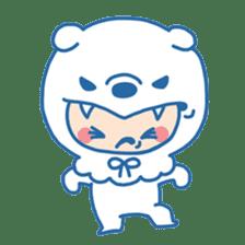 Ookami Bouya (Wolf Kid) sticker #100108