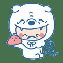 Ookami Bouya (Wolf Kid) sticker #100109