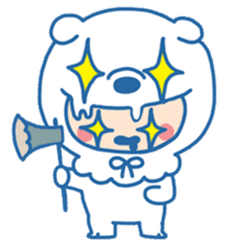 Ookami Bouya (Wolf Kid) sticker #100113