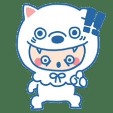 Ookami Bouya (Wolf Kid) sticker #100114