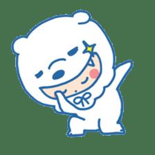 Ookami Bouya (Wolf Kid) sticker #100115