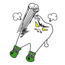 Crazy Tooth (tooth family) sticker #100161