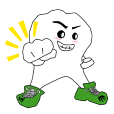 Crazy Tooth (tooth family) sticker #100164