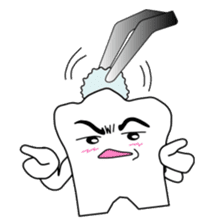 Crazy Tooth (tooth family) sticker #100168
