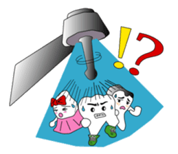 Crazy Tooth (tooth family) sticker #100171