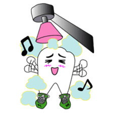 Crazy Tooth (tooth family) sticker #100176