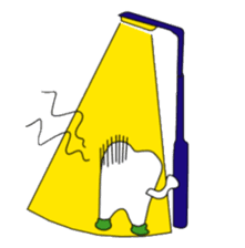 Crazy Tooth (tooth family) sticker #100191
