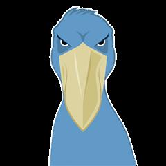 The suspicious bird:Mr.Shoebill