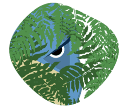 The suspicious bird:Mr.Shoebill sticker #101064