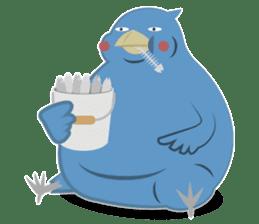 The suspicious bird:Mr.Shoebill sticker #101067