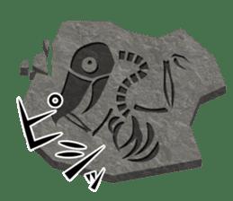 The suspicious bird:Mr.Shoebill sticker #101068