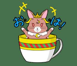 Prince of rabbit sticker #101076