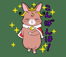 Prince of rabbit sticker #101078