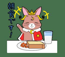 Prince of rabbit sticker #101079