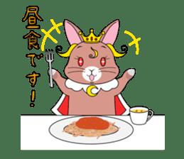 Prince of rabbit sticker #101080