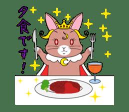 Prince of rabbit sticker #101081