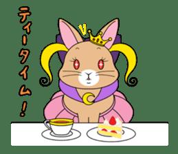 Prince of rabbit sticker #101083