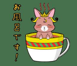 Prince of rabbit sticker #101084