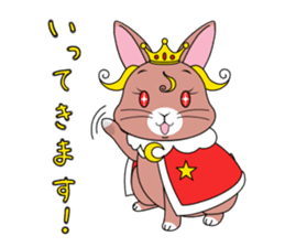Prince of rabbit sticker #101085