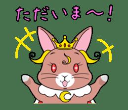 Prince of rabbit sticker #101086