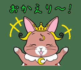 Prince of rabbit sticker #101087