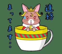 Prince of rabbit sticker #101090