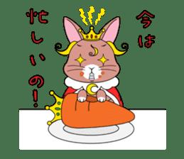 Prince of rabbit sticker #101091