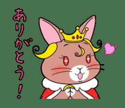Prince of rabbit sticker #101092