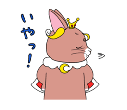 Prince of rabbit sticker #101095