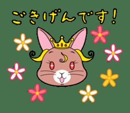Prince of rabbit sticker #101096