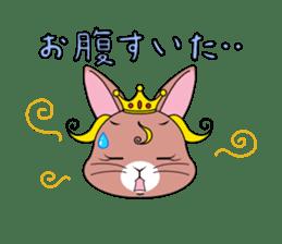 Prince of rabbit sticker #101097