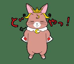 Prince of rabbit sticker #101103