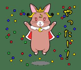 Prince of rabbit sticker #101104