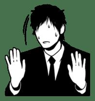 Silhouette Takahashi sticker #101284