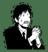 Silhouette Takahashi sticker #101287