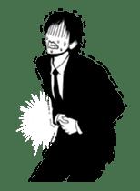 Silhouette Takahashi sticker #101304
