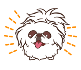 Sweet Cute baby Dogs & Cats Character sticker #102090