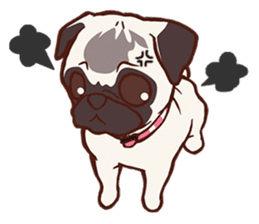 Sweet Cute baby Dogs & Cats Character sticker #102091