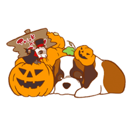 Sweet Cute baby Dogs & Cats Character sticker #102105