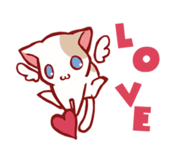 Sweet Cute baby Dogs & Cats Character sticker #102107